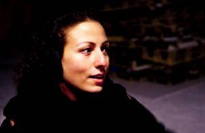 Sepideh Razavi var med och ordnade festen.Foto: Håkan Luthman