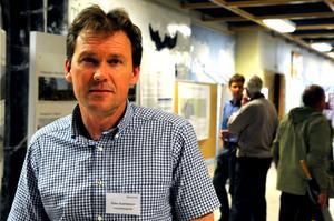 Peter Svantesson, Bergvik, tror att den satsning som de vill göra på vindkraft i södra delarna av Vansbro kommun kommer att hamna på omkring fyra miljarder kronor.