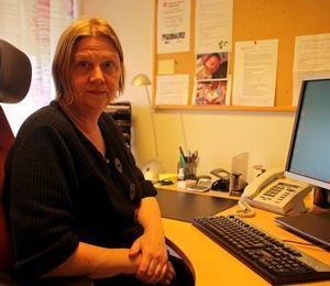 Ann Christine Karlsson önskar att fler härjedalingar tar hjälp från kommunens skuld- och budgetrådgivning.