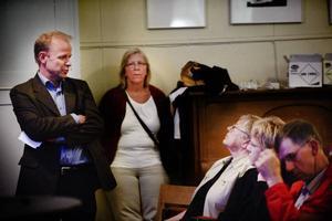 Riksdagsledamoten Mikael Oscarsson, KD, är engagerad i myggfrågan.–Det här är en fråga om människovärde, sa han.