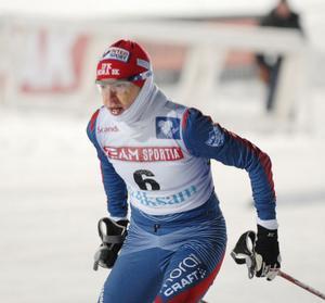 IFK Moras Sofia Bleckur tog bronset i dubbeljakten. Det här var hennes tredje individuella SM-medalj.
