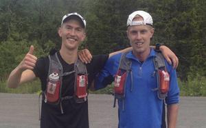 Elov Olsson och Jocke Lantz.