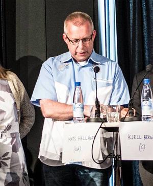 Mats Hellhoff representerade SD vid #sundsvalltycker i juni, när politikerna debatterade sjukvård.