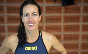 Therese Alshammar tog SM-guld direkt i comebacken efter barnafödande.