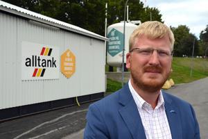 Markus Sundström, VD för Sundfrakt AB.