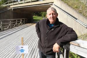 Sune Salomonsson hälsar välkommen till Oviken för terräng-DM nästa helg. Då blir det också premiärtävlande över nya bron.