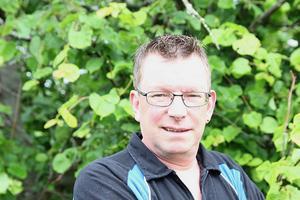 Christer Stockhaus jaktledare i Vallsta jaktlag är arg och bekymrad över skadegörelsen.