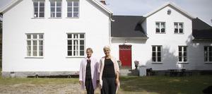 Boende. Liselott Segelström och Marita Bjursmarck är övertygade om att de i Nannberga ska kunna ge flyktingbarn en trygg tillvaro och en chans att anpassa sig till ett vuxenliv i Sverige.