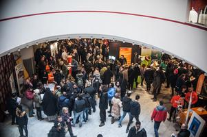 Flera tusen kom till Aros Congress Center för att besöka Rekryteringsmässan.