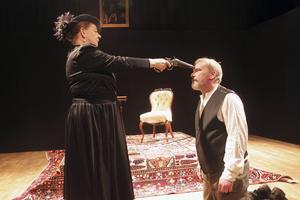 Ingrid Eldeklint och Mikael Björklund i storform.