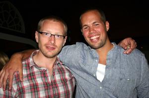 Blue Moon Bar. Marcus och Andreas