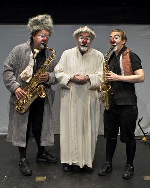 Henri Kokko, Lasse Beischer, Josefine Andersson på Gävle Teater med Schtunk