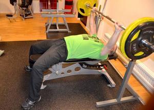 Roine Honkala tränar i gym tre-fyra gånger i veckan, något som han tycker passar bra för honom.