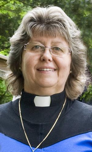 Elisabeth Grafström, sjukhuspräst, fyller i dag 60 år.