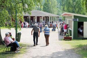 Den natursköna Forsparken var platsen för den fjärde Seniormässan på onsdagen. Det bjöds på hästskjuts och man kunde äta kålsoppa, varmkrov, fika och köpa hemost och lotter. Även Edsbykvintetten och SPF-kören underhöll.