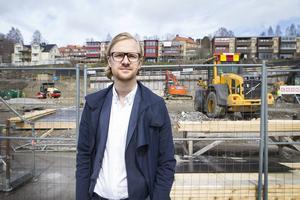 Fredrik Karström har tidigare inte varit ansvarig för nybyggnadslägenheter, men ser nu en tydlig förändring på marknaden.