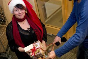 Ulla Byström är initiativtagare till julklappsutdelningen.