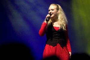 Vilma Andersdotter sjöng
