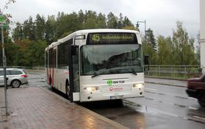 Kollektivtrafiken i Sollefteå skärs ner i december. På lördagar upphör trafiken helt.