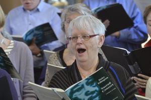 Återvändare. Margareta Elovsson var med förra året i Nora också, och kommer från Ludvika.