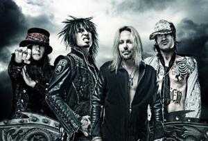 80-talets mesta rockbusar Mötley Crüe är inte särskilt vilda längre, hävdar basisten Nikki Sixx (tvåa från vänster). – Jag har noll intresse av att leva på det sättet i dag, och jag tänker inte låtsas att jag gör det heller, säger han.  Foto: Pressbild