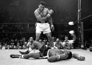 Muhammed Ali försvarade våren -65 sin världsmästartitel genom att knocka Sonny Liston. Det firade Ali med att åka till Säterdalen.
