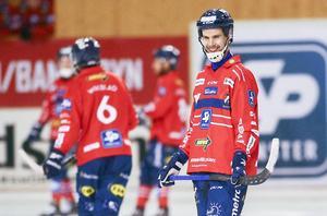Mattias Hammarström satte punkt för mötet med Tillberga med två mål – ett skott och en straff.