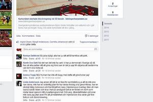 Många har reagerat på klockringningen under SD:s torgmöte i Sveg och kommenterat nyheten.