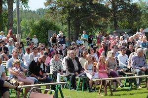Nationaldagsfirandet i Ljusdal lockade många besökare.