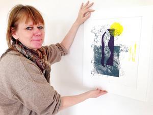 Johanna Bahlenberg ställer ut sin konst på Härke Konstcentrum från och med lördag.