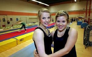 Therese Eriksson och Maria Björk har tränat sedan de var 6 år. Nu tränar de andra. FOTO:STAFFAN BJÖRKLUND