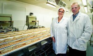 Gun-Britt Malmkvists Laggen expanderar. Med start i april ska man börja grädda ytterligare nästan två och en halv miljoner pannkakor om året.