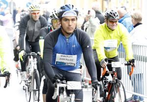Juan Pulido från Örebro körde på 11:17.