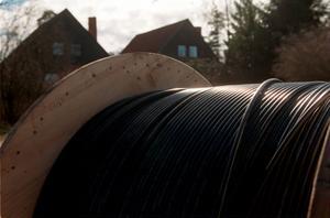 Fiberutbyggnaden fortsätter även nästa år och 2014. Under det närmaste året ska större delen av Björktjära också få fiber via kabel.