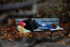 Det är oklart hur många hemlösa det finns i Ludvika kommun.