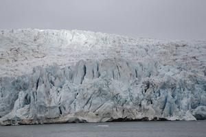 Glaciär på Svalbard.