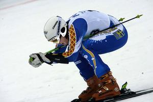 Calle Lindh fick pris för sina framgångar under Vinteruniversiaden i Turkiet i vintras.