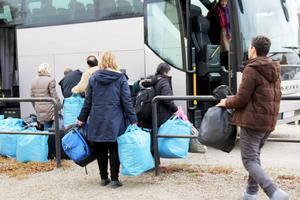 Besluten om ankomster och vidareslussning från Fröstuna sker mycket snabbt.