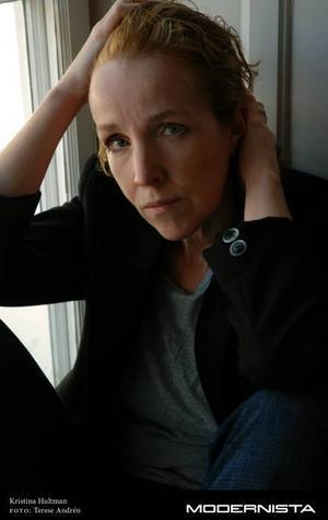 """00-talets queerkrönikör. Kristina                                 Hultman skildrar ett smalt utsnitt av Sverige i sin roman """"Undersökningen""""."""