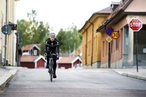 25 kilometer i timmen i snitt körde Henrik Öijer i sin 606 kilometer långa dalaresa