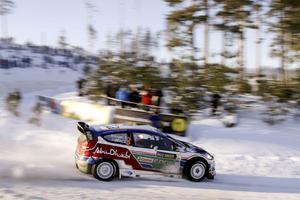 Finländaren Mikko Hirvonen är regerande mästare i Svenska rallyt som börjar i dag och avslutas på söndag.