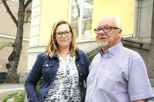 Therese Blomdahl Dahlin och Toni Björklund.