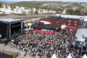 Ski-Rock med Hives 2014.