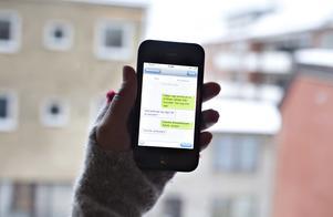 2012 var det nytt att kunna larma SOS via sms.