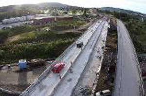 Sundsvall 8 november: Bergsåkersbron invigs.
