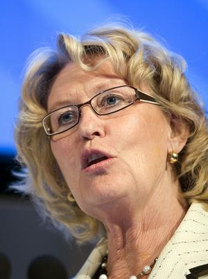 Metta Fjelkner är redan stridslysten.