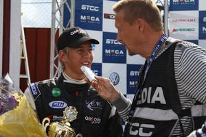 Kevin Engman i rampljuset efter JTCC-helgen i Karlskoga som gav två silverplatser.