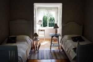 Flickrummet i Villa Solbacken har kvar all sin charm.