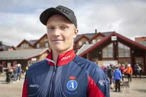 Jens Burman, segrade i Vemdalens Fjällmaraton 2017 herrar 24 kilometer.