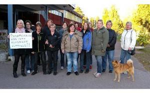 Städarna på Morastrand tror inte på privatisering. Foto: Rosa Golzio/DT